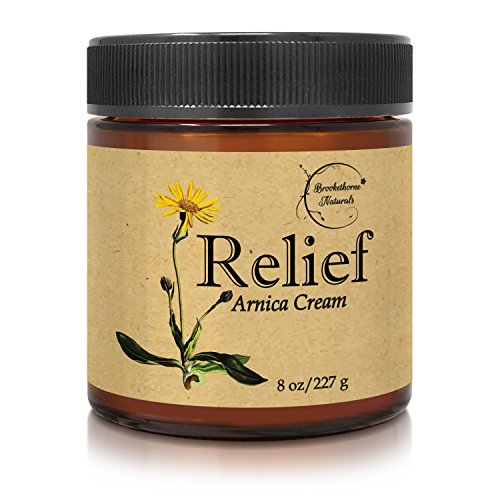 Check Out This Relief Arnica Cream – Enriched with Lemongrass, Eucalyptus & Rosemary Essential Oil...