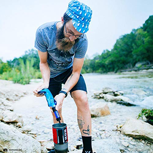 Sawyer MINI Wasserfilter LIMITED EDITION Outdoor Camping Trekking Wasserfilter Wasseraufbereitung (Camouflage) - 3