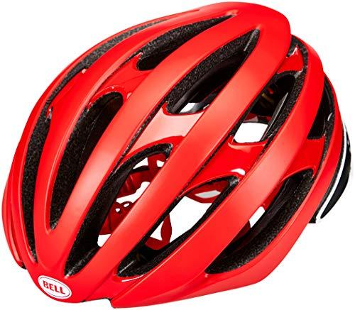 Bell Unisex– Erwachsene Stratus MIPS Fahrradhelm Road, Matte/Gloss red/Black, S | 52-56cm