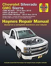 Chevrolet Silverado and GMC Sierra  1500 Models 2014 thru 2018; 1500 LD Models 2019; 2500/3500 Models 2015 thru 2019 Haynes Repair Manual: 1500 Models ... Based on a complete teardown and rebuilt