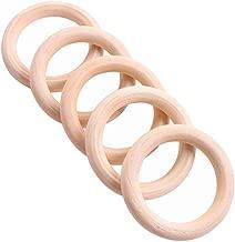 LAQI 50 St/ücke 10mm Innendurchmesser Fenster Vorhang Ring Kunststoff Raffrollo Ringe Wei/ß