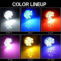 T10 9連 白 ホワイト ポジション ナンバー灯 2個セット バルブ LED