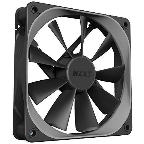 Nzxt - Ventilador Ordenador Simple De 120Mm Silencioso (Rf-Af120-B1), Negro