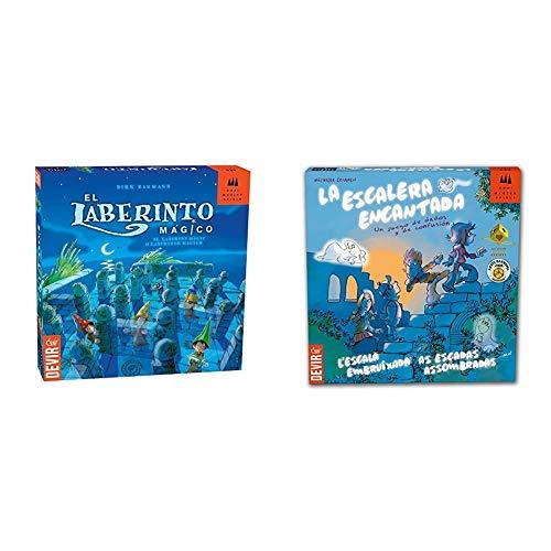 Devir - El Laberinto mágico, Juego de Mesa + La Escalera encantada (BGESCA)