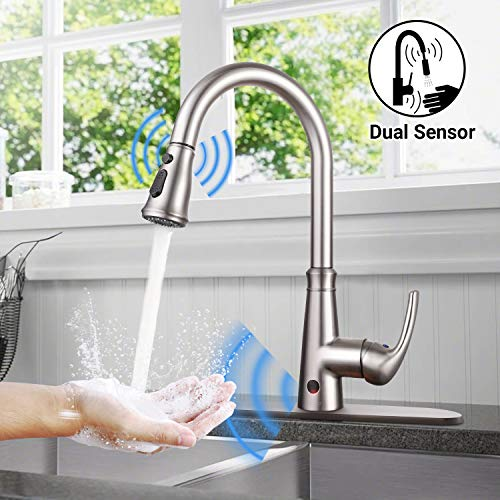 kitchen faucets touchless - 6