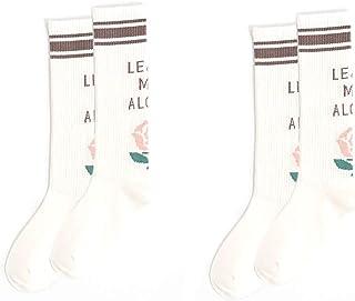 Bocotoer, 2 Paof Calcetines de mujer para atletismo, senderismo, calcetines para deportes