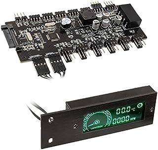Lamptron TC20 Sync Edition PWM-Controlador de Bloqueo y RGB-PCI, Negro
