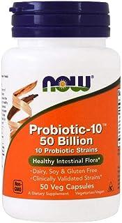 Now Foods Probiotic-10 50 Billion 50 Veg Capsules