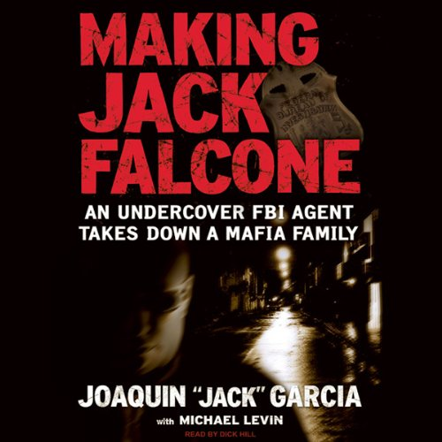 Making Jack Falcone audiobook cover art