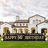 50 Geburtstag Dekoration,50 Geburtstag Mann und Frau,Extra