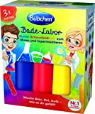 Bübchen Bade-Labor, Bunter Schaumbad-Mix zum Mixen und Experimentieren 3x50ml (blau, rot, gelb)