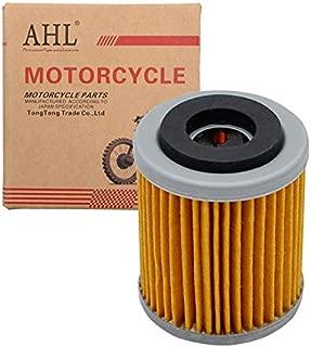 AHL 142 Oil Filter for Yamaha YFM350X Warrior 350 1987-2004(yellow)