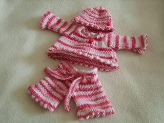 SSK Little Madam Knitting Pattern - 10 Inch Baby Doll