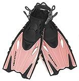 Aqua Speed Flossen Kinder I Schnorchelflossen kurz I größenverstellbare Tauchflossen für Kind...