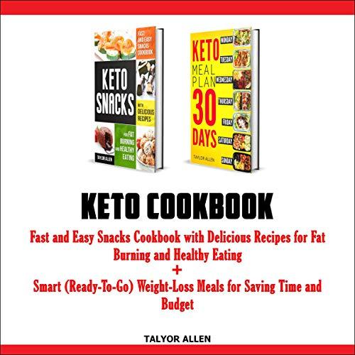 Keto Cookbook cover art