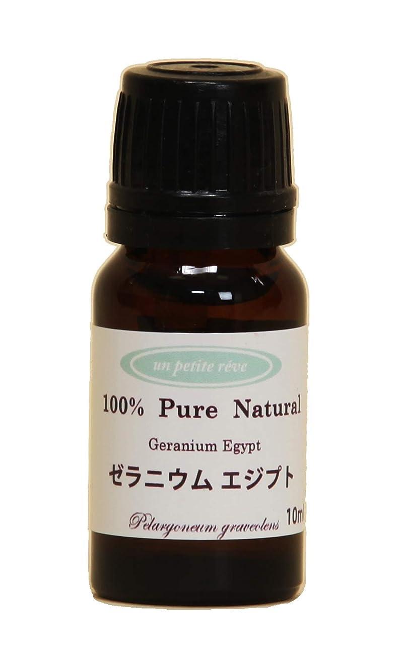 無謀マディソンやむを得ないゼラニウムエジプト 10ml 100%天然アロマエッセンシャルオイル(精油)
