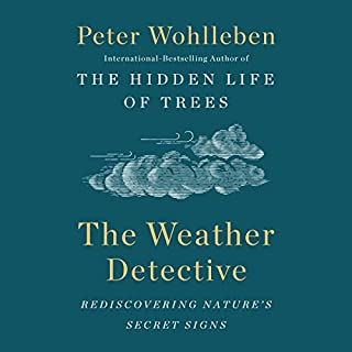 The Weather Detective audiobook cover art