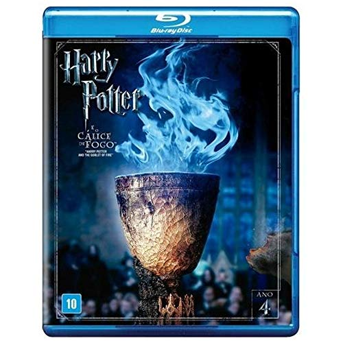 Harry Potter E O Calice De Fogo [Blu-ray]