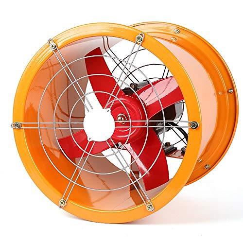 YINUO Fans Ventilador eléctrico de Alta Velocidad del Acero Inoxidable Extractor Industrial/Cilindro...
