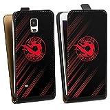 Étui Compatible avec Samsung Galaxy Note 4 Étui à Rabat Étui magnétique Diables Rouges Produit...