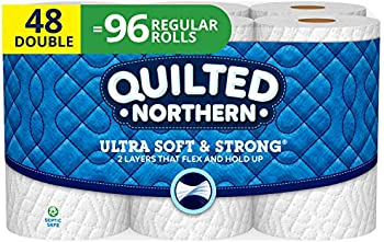48-Count Quilted Northern Ultra Soft and Strong Toilet Paper