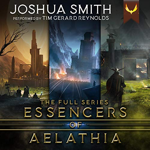 Essencers of Aelathia Audiobook By Joshua Smith cover art