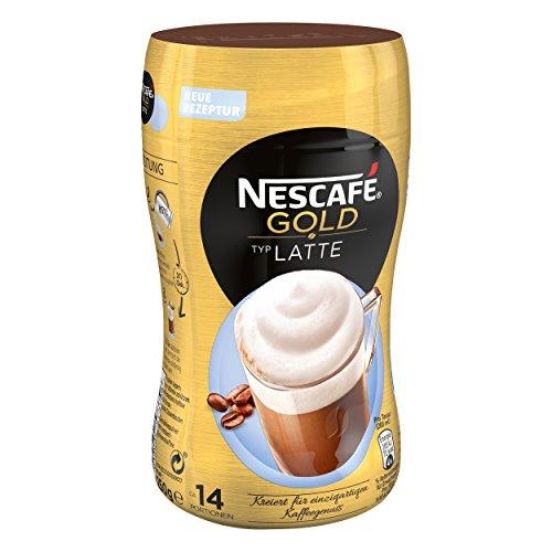 Nescafé Gold Typ Latte, Löslicher Kaffee, Instantkaffee, Kaffee, Dose 250 g, 12311733