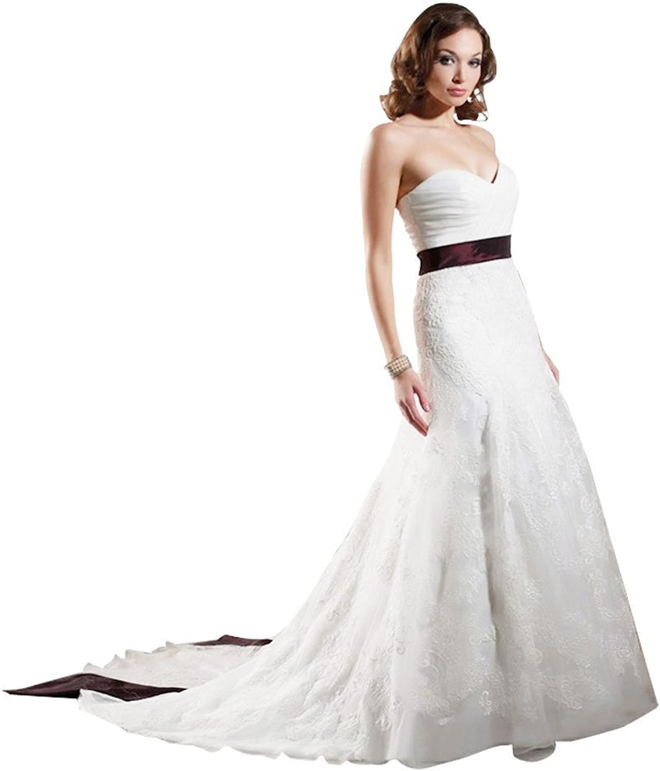 Passat Plus Size colord Embroidered Wedding Dress