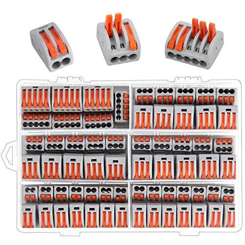 Preciva 100 Kompakt-Kabelverbinder, kompakter Leitungsdraht, Anschlüsse Feder, Klemmleiste