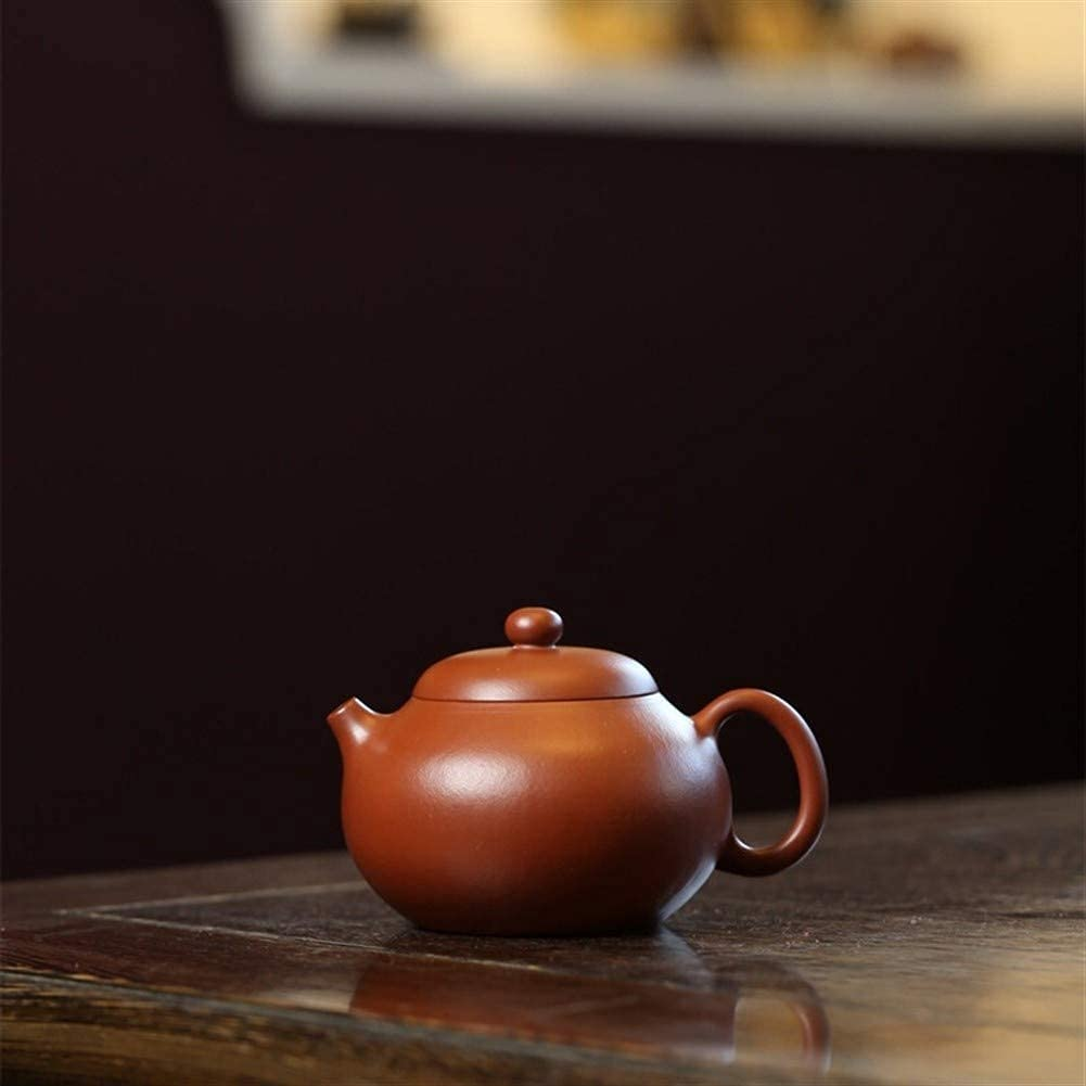 HUAXUE Teapot Japanese, Purple Boston Mall Clay Hand-Wrinkled Tea Ranking TOP2 Cup S