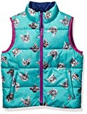 Spotted Zebra Reversible Puffer Vest infant-and-toddler-down-alternative-outerwear-coats, Cats/Navy, XS