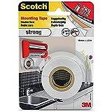 Scotch 40011915, Cinta de Montaje Fuerte de 1.5 m x 19 mm, 1 unidad