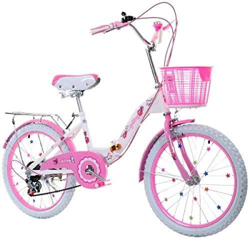 LEIXIN Bicicleta de los niños Kids' Freestyle Bicicletas 20 Pulgadas de Cambio...
