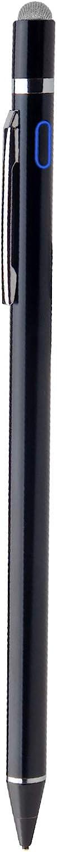 Stylus Pens for HP Chromebook X360, EDIVIA Digital Pencil with 1.5mm Ultra Fine Tip Pencil for HP Chromebook X360 Stylus, Black
