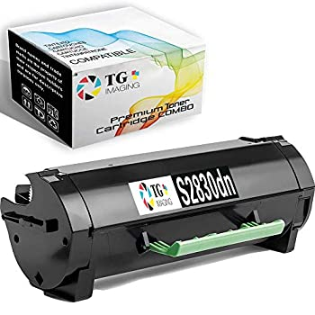 1 Pack  1xBlack  TG Imaging Compatible with Toner Cartridge Dell S2830 Toner Cartridge S2830X S2830dn 1 Pack for use in S2830 S2830dn Printer
