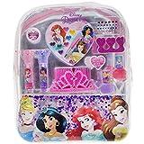 Townley Girl Disney Princess Cosmetic Backpack, 10 CT