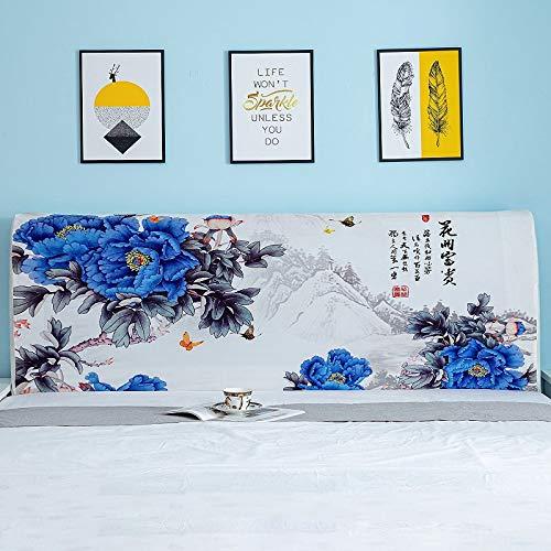uyeoco Cabeceros De Cama Funda Cover Funda para cabeceros de Cama de Tela Lado De La Cama Cubierta A Prueba De Polvo Lavable para La Decoración del Dormitorio (Color : A, Size : 180cm(71'))