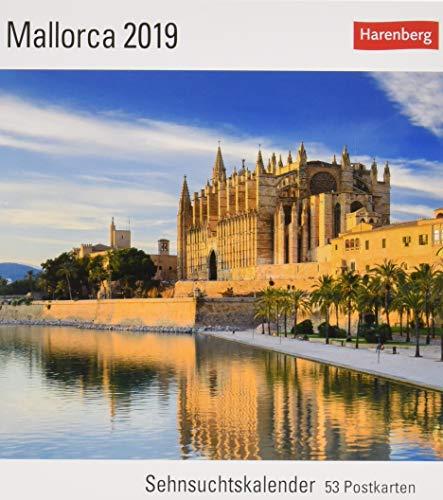 Mallorca - Kalender 2019: Sehnsuchtskalender, 53 Postkarten