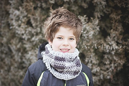 All about Plaid Cowl crochet pattern : Crochet pattern (English Edition)