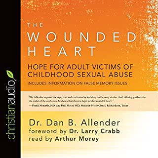 The Wounded Heart audiobook cover art