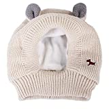 JVSISM CáLido Gorro de Invierno para Perro Grande Traje de Oreja de Conejo Mascota Protector del Calentador del OíDo del Cuello Capuchas Calientes para Mascotas Sombrero de Perro