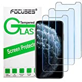 Screen Protector for iPhone 11 Pro Max, iPhone Xs Max, Focuses Anti-Blue Light Temper Glass Film [Eye Protection ] for iPhone Pro Max/XS Max-3Pcs
