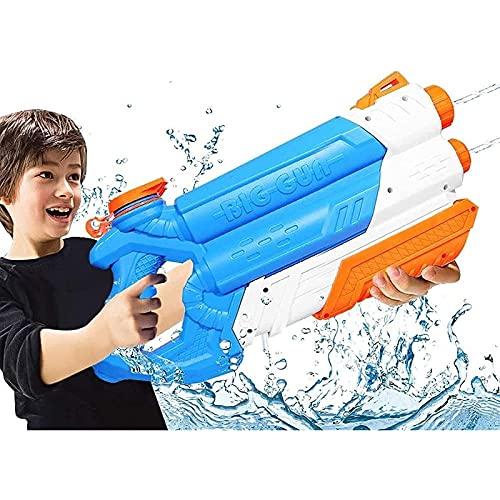 Mlcjva Pistola de Spray de la Pistola de Shui Capacidad Grande 2000cc Sprinkler 10M Piscina Pistola Pistola Playa Playa Partido Shooter Luchador Juguetes