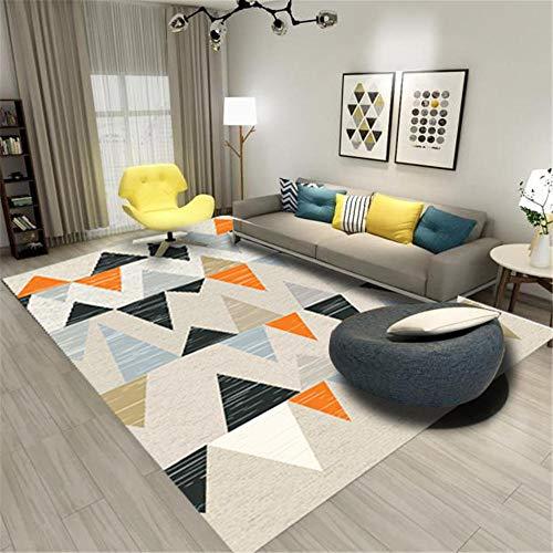 Alfombras De Habitacion Grande gris Alfombra de sala de estar, patrón de rayas triangulares, alfombra duradera, antisucia Alfombra Para Gatos Los 60X90CM Alfombra Silla Gaming 1ft 11.6''X2ft 11.4''
