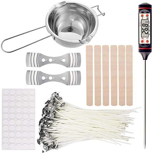 Katigan DIY Candle Crafting Tool Kit,DIY Candles Craft Tools Candle Wick Candle Making Tool Suitable for Beginner Candle Making