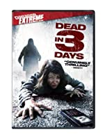 Dead in 3 Days [DVD] [Import]