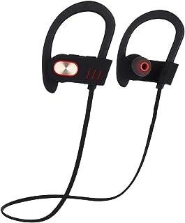 Gaga auriculares inalámbricos Bluetooth, gancho de oreja Auriculares In-Ear Heavy Bass deportivo auriculares, Dorado