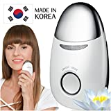 Korean Face Massager - Galvanic Microcurrent Face Lift Machine - LED Red Light Therapy Facial Skin Tightening Device - Anti Aging Massage Tool for Face and Neck - Facial Heat Massager by Lemique
