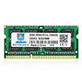 Motoeagle ノートPC用メモリ1.35V DDR3 DDR3L 8GB 1333 MHz PC3/PC3L-10600 SO-DIMM 8GB×1枚 204Pin CL9 Non-ECC Mac 対応 永久保証