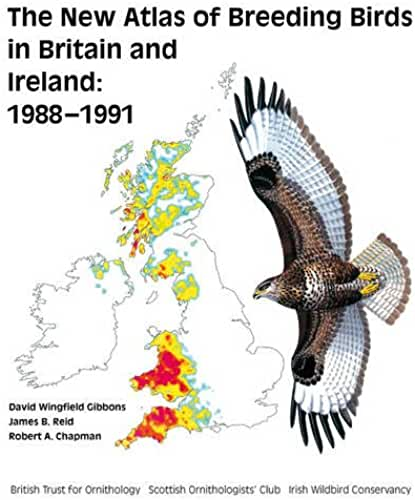 The New Breeding Atlas of Breeding Birds in Britain and Ireland, 1988-1991